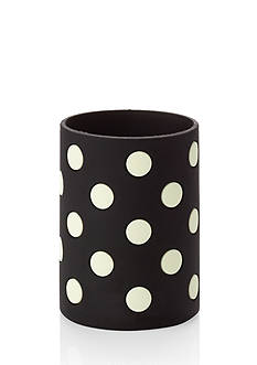 kate spade new york Black White Dots Let's Chill Drink Coozie