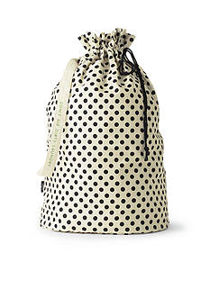 kate spade new york Black Dots Laundry Bag