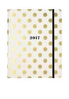 kate spade new york 17-Month Large Gold Dots Agenda
