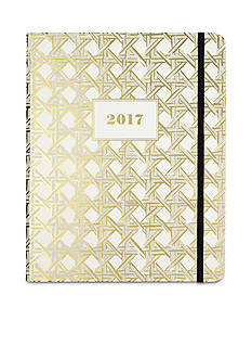 kate spade new york 17-Month Large Caning Agenda