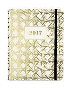kate spade new york 17-Month Medium Caning Agenda