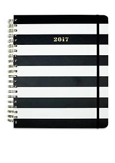 kate spade new york 17-Month Jumbo Black Stripe Agenda