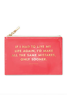 kate spade new york Pencil Pouch, Same Mistakes