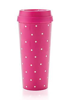 kate spade new york Larabee Dot Pink Thermal Mug