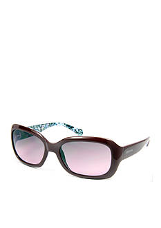 Kenneth Cole Reaction Small Plastic Rectangle Sunglasses