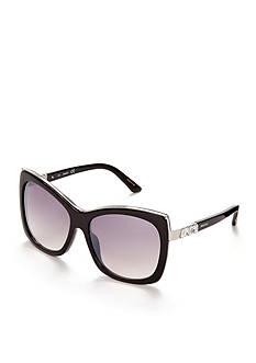 SWAROVSKI&#174 Crystal Oversized Sunglasses