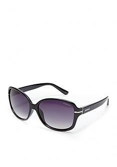 Polaroid Plastic Oval Sunglasses