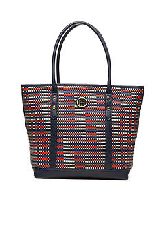 Tommy Hilfiger Hadley Woven Tote