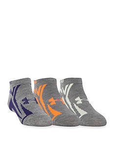 Under Armour Phantom No Show Socks 3-Pack