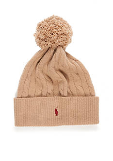 Polo Ralph Lauren Classic Cable Pom Hat