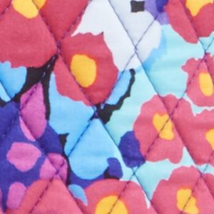 Designer Cross Body Bags: Impressionista Vera Bradley Triple Zip Hipster Crossbody