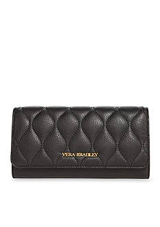 Vera Bradley Leather Quilted Audrey Wallet