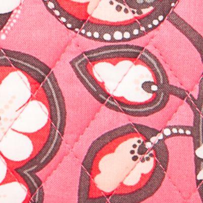 Handbags and Wallets: Blush Pink Vera Bradley Signature Turn-Lock Wallet