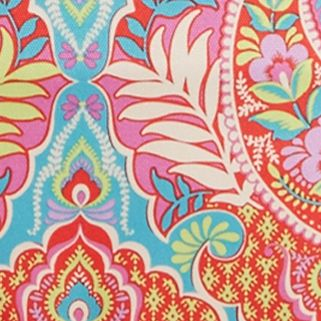 Designer Luggage: Paisley In Paradise Vera Bradley Lighten Up Expandable Travel Bag