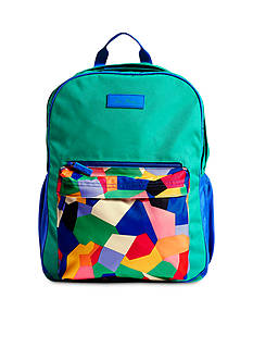 Vera Bradley Large Colorblock Backpack