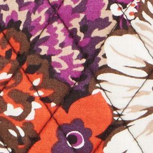Designer Small Accessories: Rosewood Vera Bradley SIGNATURE LARGE ZIP COSMETIC