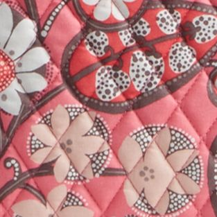 Handbags and Wallets: Blush Pink Vera Bradley Signature Vera 2.0 Tote