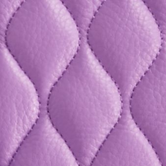 Designer Cross Body Bags: Purple Vera Bradley Quilted Leather Molly Crossbody