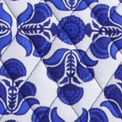 Designer Small Accessories: Cobalt Tile Vera Bradley Signature Trifold Wallet