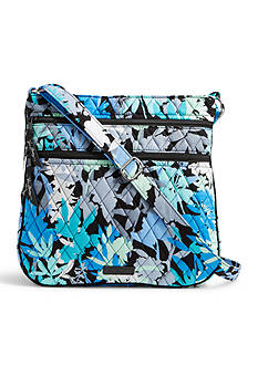 Vera Bradley Signature Triple Zip Hipster Crossbody