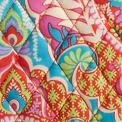 Designer Small Accessories: Paisley Paradise Vera Bradley Signature Weekender Bag