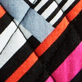 Cosmetic Bags: Northern Stripe Vera Bradley Signature Medium Zip Cosmetic Bag