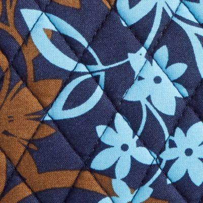 Cosmetic Bags: Java Floral Vera Bradley Signature Medium Zip Cosmetic Bag