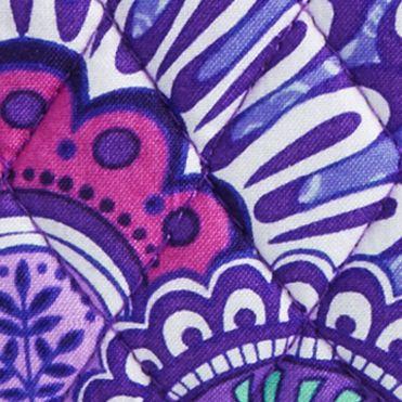 Cosmetic Bags: Lilac Tapestry Vera Bradley Signature Medium Zip Cosmetic Bag