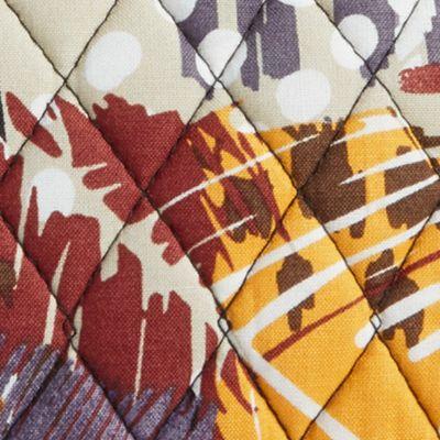 Cosmetic Bags: Painted Feathers Vera Bradley Signature Medium Zip Cosmetic Bag