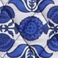 Designer Handbags: Cobalt Tile Vera Bradley Trimmed Signature Triple Compartment Travel Bag