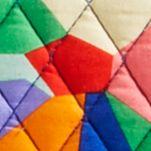 Designer Handbags: Pop Art Vera Bradley Triple Compartment Travel Bag