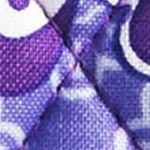 Handbags and Wallets: Lilac Tapestry Vera Bradley Riley Compact Wallet