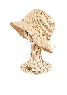 San Diego Hat Company Raffia Bucket Hat