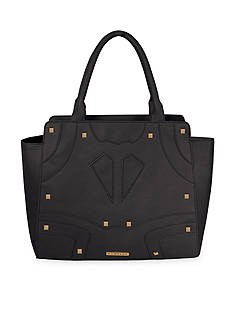 Rampage Solid Studded Satchel