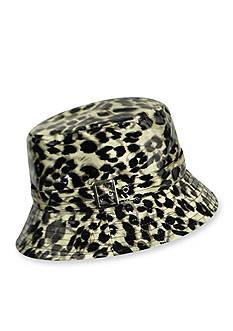 Karen Kane Printed Rain Bucket Hat