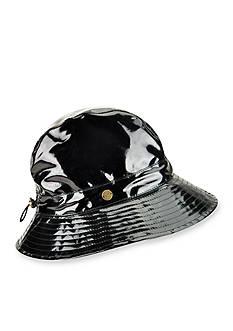 Karen Kane Patent Rain Floppy Hat