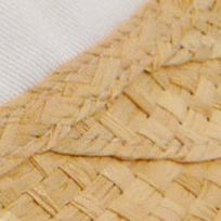 Womens Hats: Natural/White Karen Kane Raffia Visor