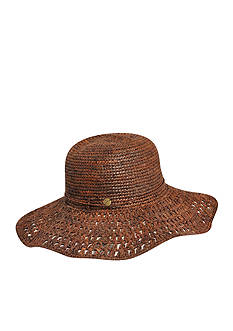 Karen Kane Raffia Packable Floppy Hat