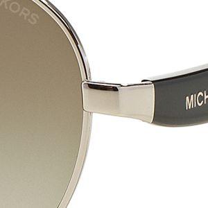Women: Michael Kors Accessories: Silver Michael Kors Sadie III Sunglasses