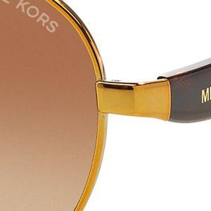 Women: Michael Kors Accessories: Tortoise Michael Kors Sadie III Sunglasses