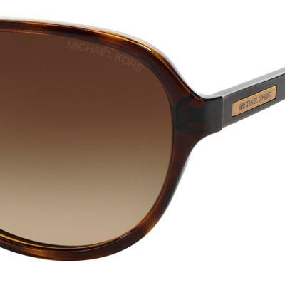 Aviator Sunglasses: Dark Tortoise Michael Kors Wainscott Aviator Sunglasses