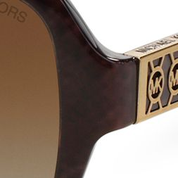 Square Sunglasses: Brown Michael Kors Cuiaba Sunglasses