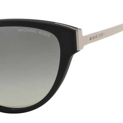 Womens Sunglasses: Black Michael Kors Punte Arenas Cateye Sunglasses