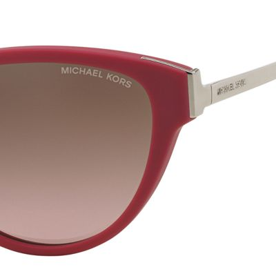 Womens Sunglasses: Fuschia Michael Kors Punte Arenas Cateye Sunglasses