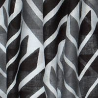 Scarves and Wraps: White/Blk/Grey Urban Originals™ Arrow Scarf