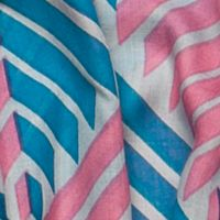 Scarves and Wraps: Pink/Stone/Jade Urban Originals™ Arrow Scarf