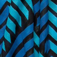 Scarves and Wraps: Jade/Blk/Blue Urban Originals™ Arrow Scarf