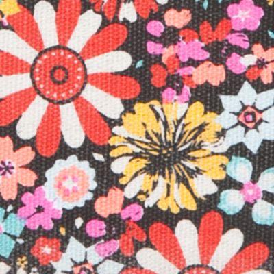 Wallets: Heart Stripe Floral TWIG & ARROW Twin Print Wallet