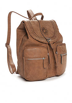 Kim Rogers Two Pocket Perf Backpack