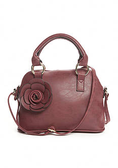 New Directions Mini Satchel With Flower